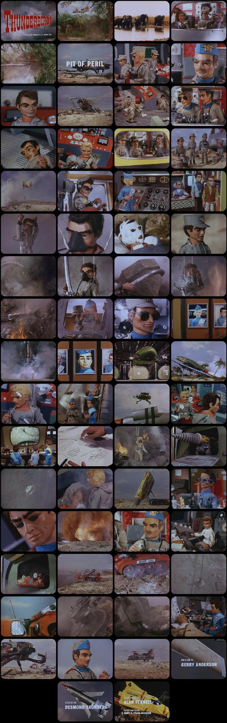 Thunderbirds Episode 2 Tele-Snaps