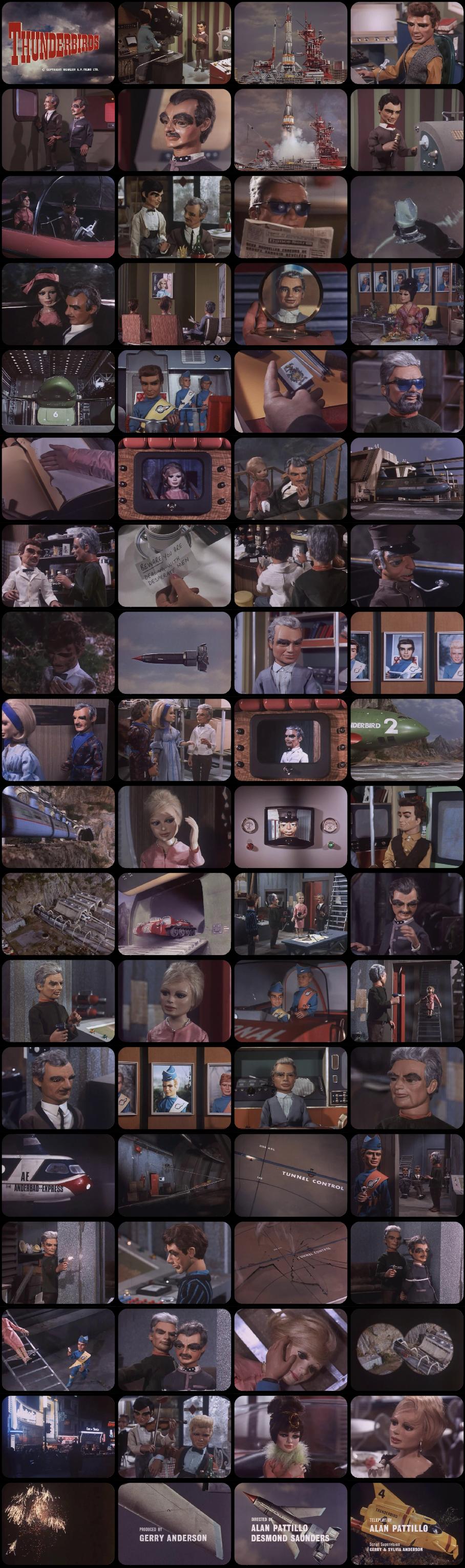 Thunderbirds Episode 3 Tele-Snaps