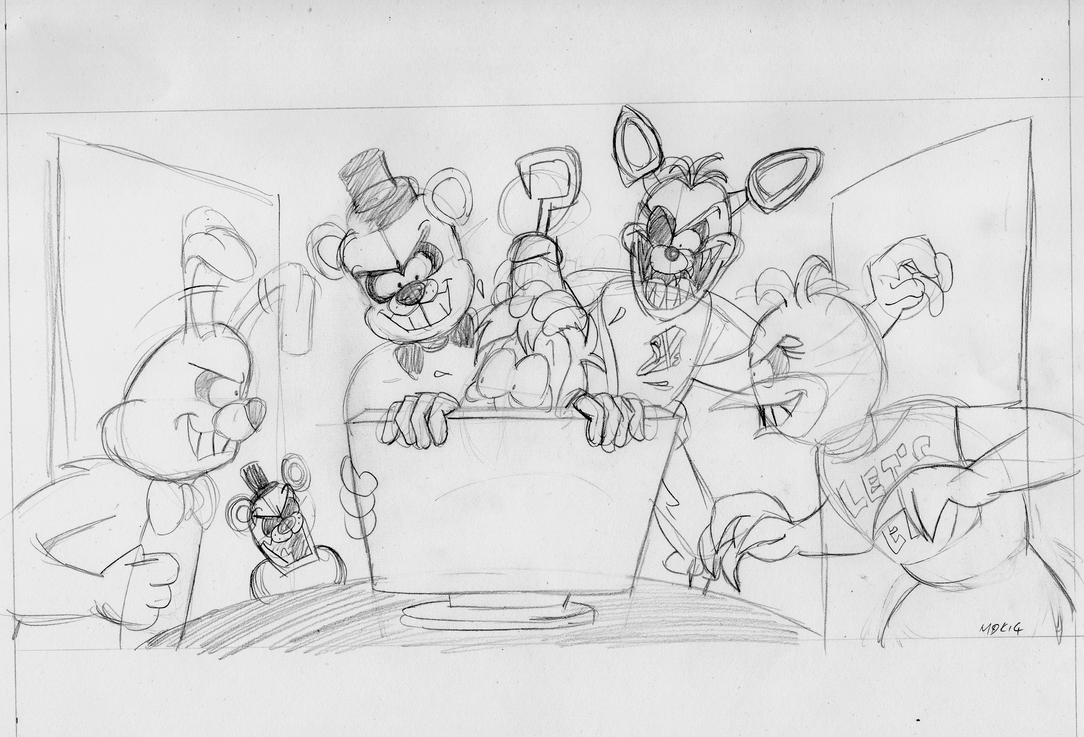 Five nights at freddy s wip by vgretro on deviantart