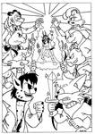 Super Sezer Poster (Inks)