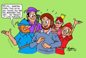 Thanks, Al! by MDKartoons