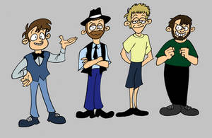 The New VG Bros by MDKartoons