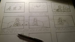 Hedley and Smedley Storyboard WIP