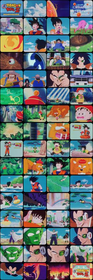 Dragon Ball Z Episode 1 Tele-Snaps
