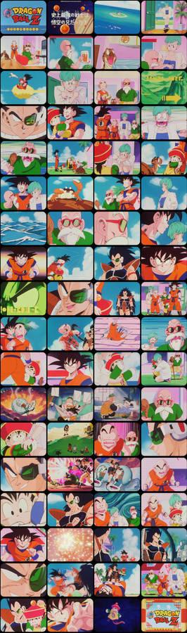 Dragon Ball Z Episode 2 Tele-Snaps