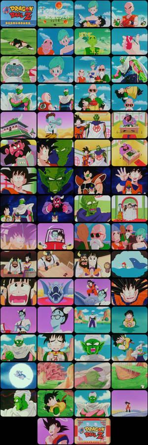 Dragon Ball Z Episode 6 Tele-Snaps