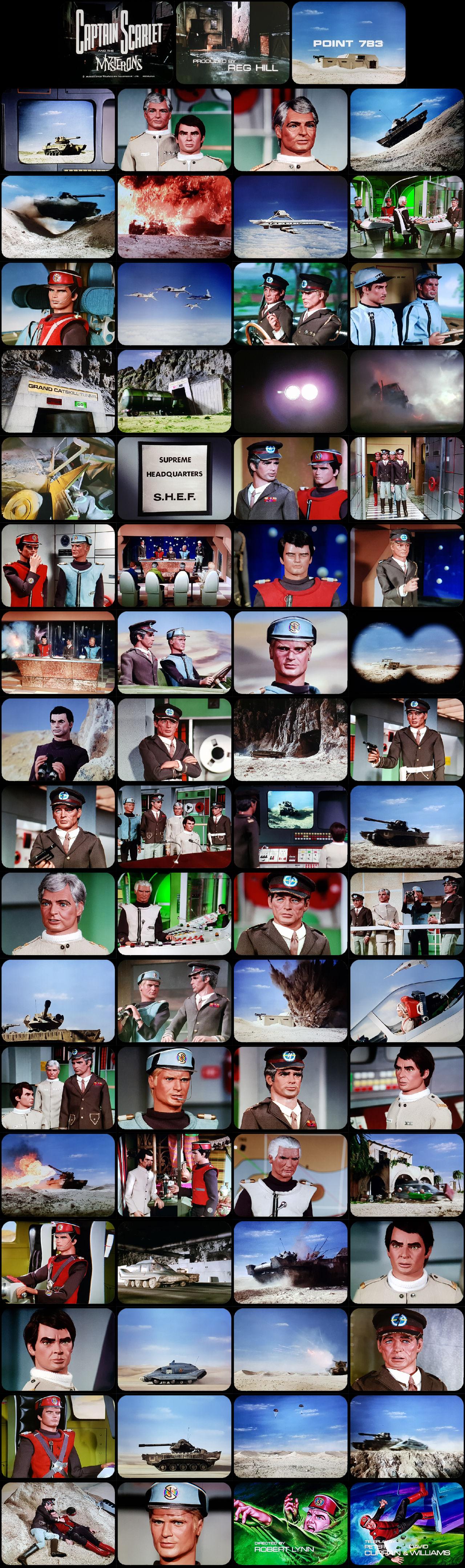 Captain Scarlet Episode 4 Tele-snaps