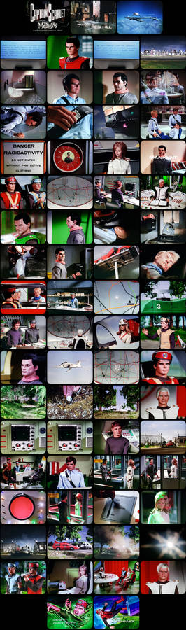 Captain Scarlet Episode 5 Tele-snaps (REDONE)