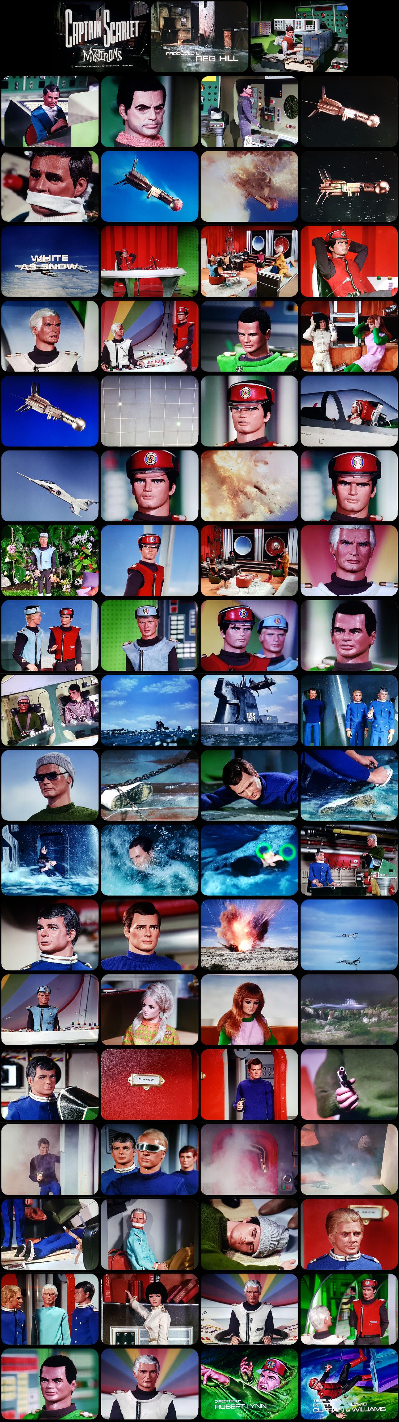 Captain Scarlet Episode 8 Tele-Snaps (REDONE)