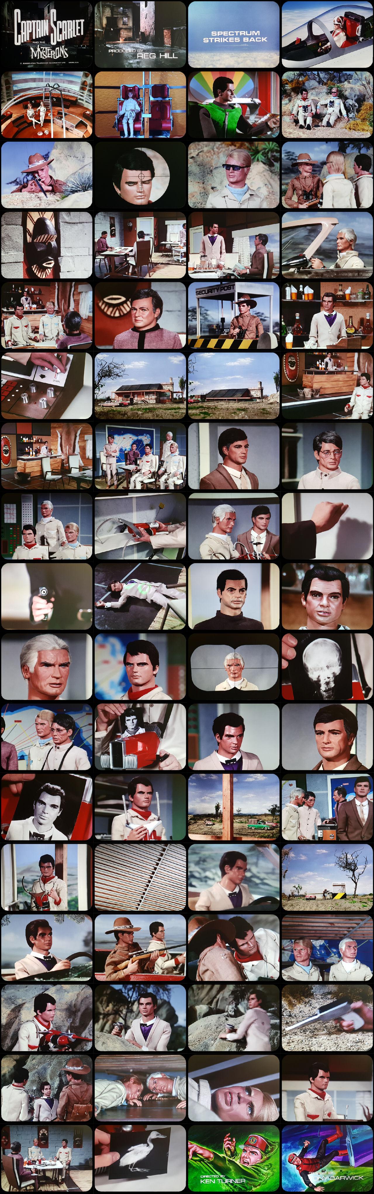 Captain Scarlet Episode 10 Tele-Snaps (REDONE)