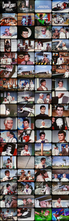 Captain Scarlet Episode 10 Tele-Snaps (REDONE)