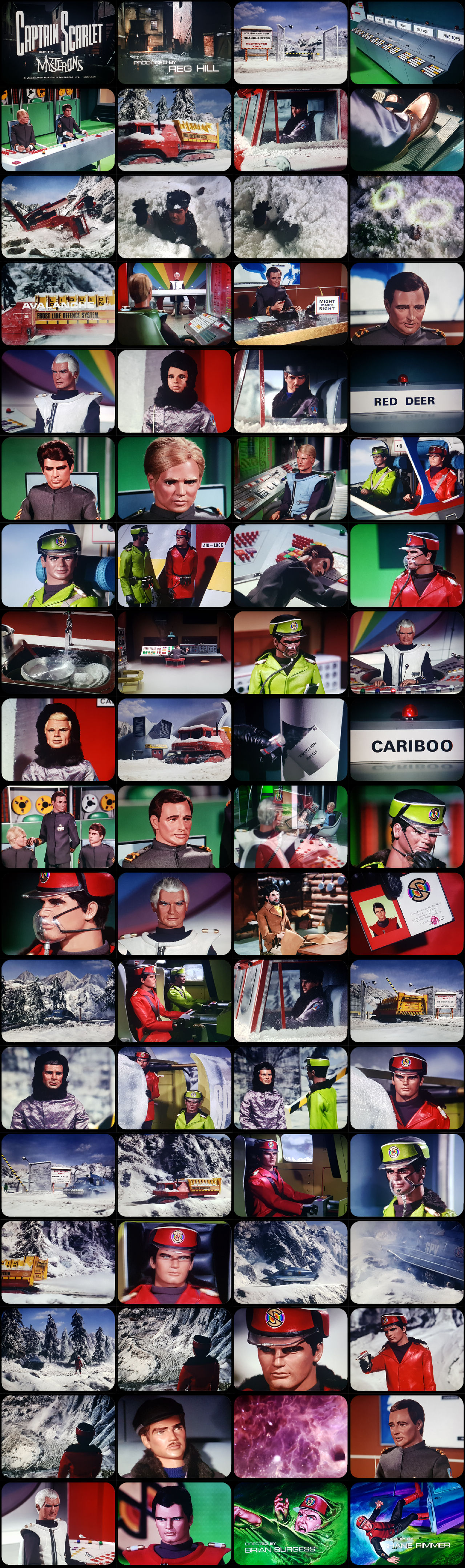 Captain Scarlet Episode 11 Tele-Snaps (REDONE)