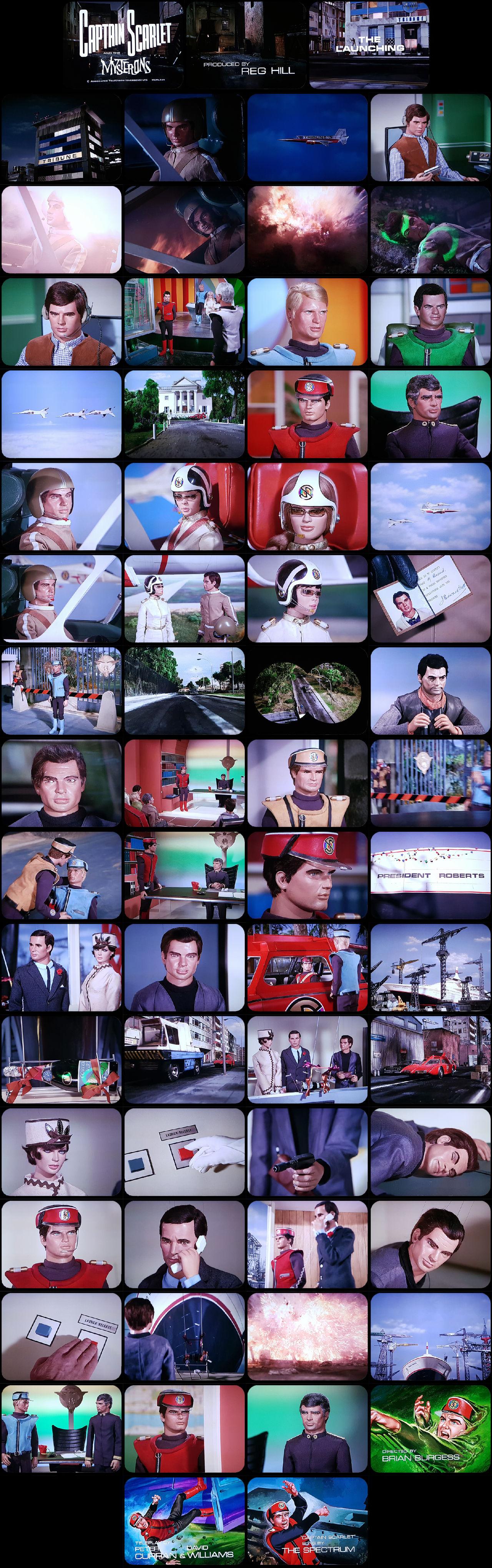 Captain Scarlet Episode 15 Tele-Snaps
