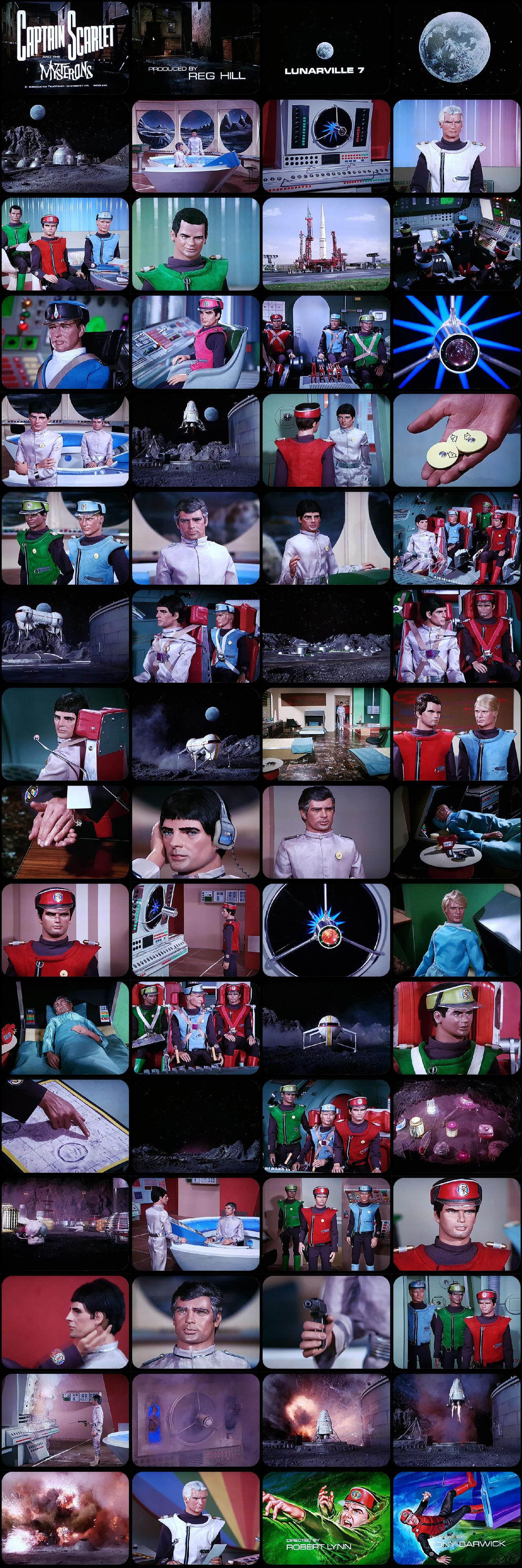 Captain Scarlet Episode 16 Tele-Snaps