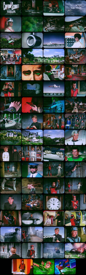 Captain Scarlet Episode 17 Tele-Snaps (REDONE)