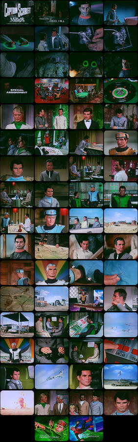 Captain Scarlet Episode 21 Tele-Snaps (REDONE)