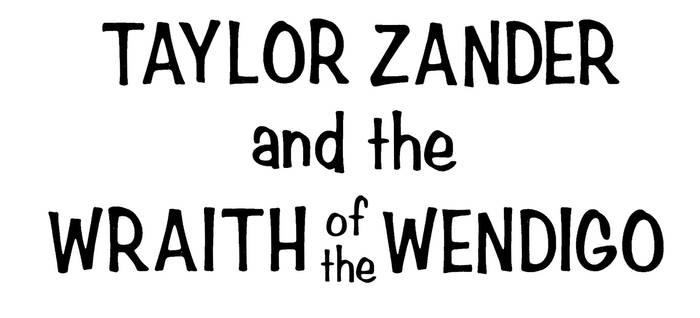 Taylor Zander comic title