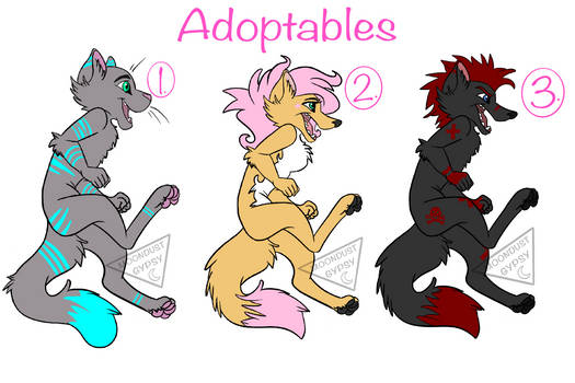 New Price! PWYW Character Adopts(OPEN)
