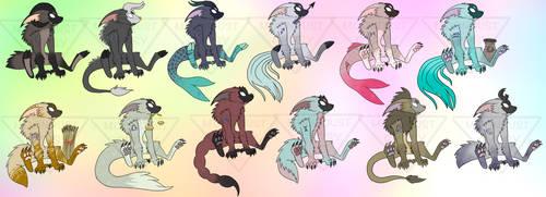 Zodiac Wendoggo(OPEN)