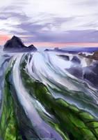 Winding Rocks by Velsinte