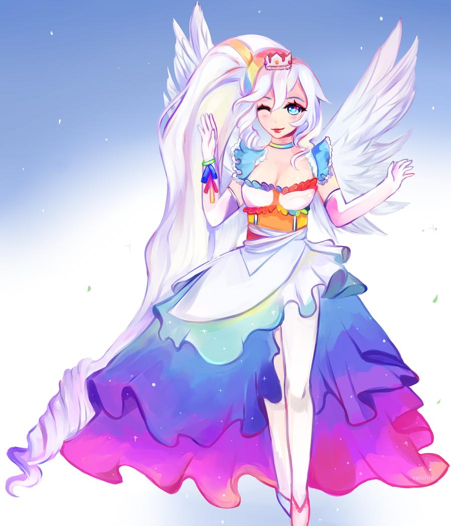 Pastel angel by Velsinte