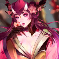 Onmyoji Momo by Velsinte
