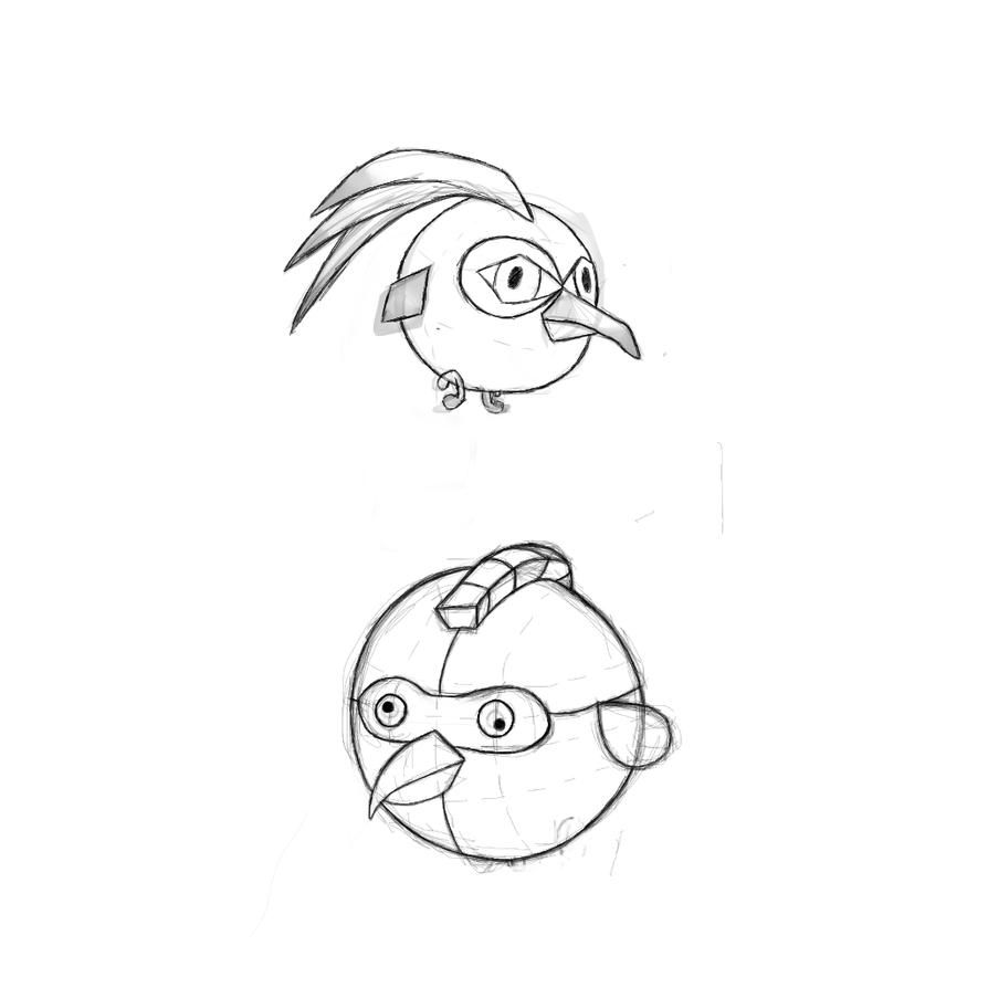 Random angry birds by TwilightRoxK