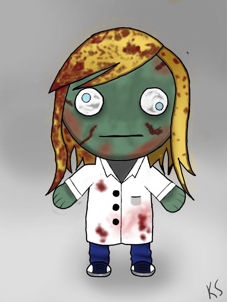 Zombie 1 by TwilightRoxK