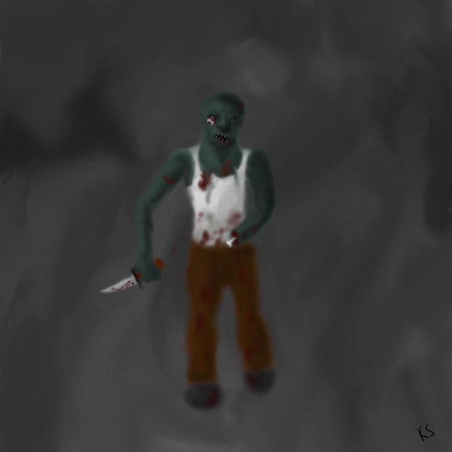 Zombie 3 by TwilightRoxK