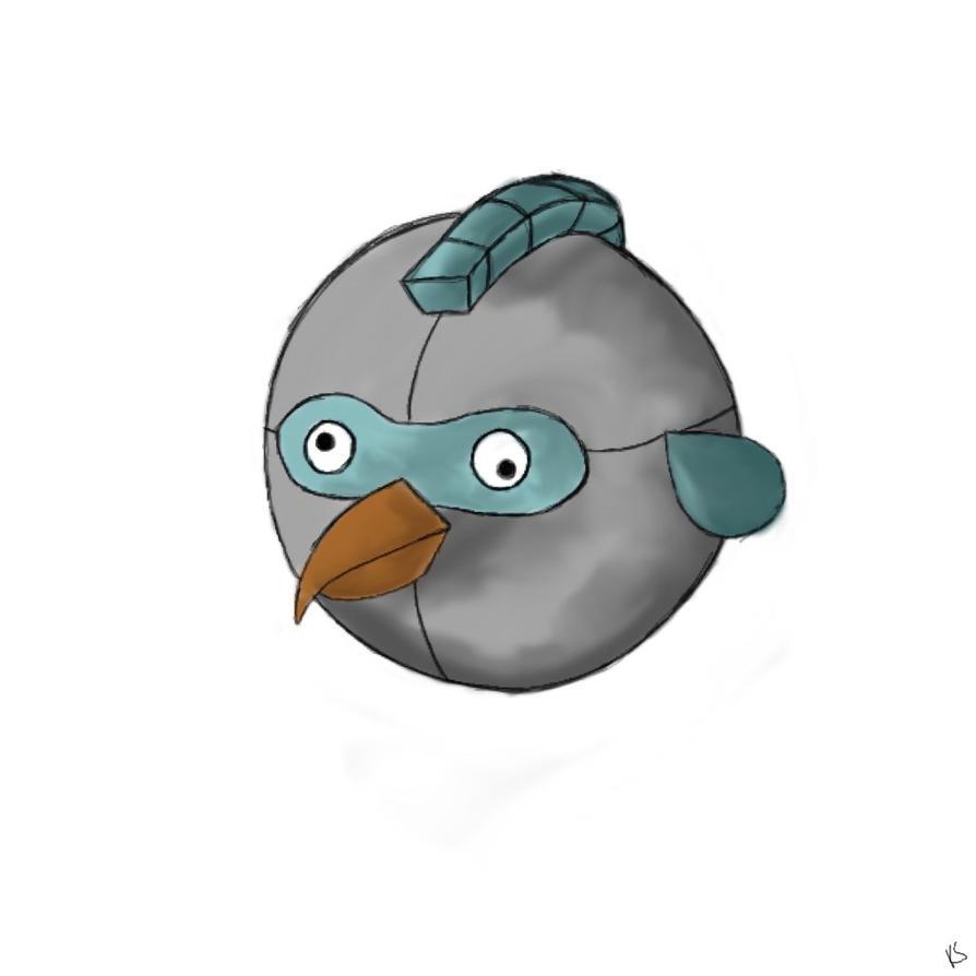 Angry bird design 1 by TwilightRoxK