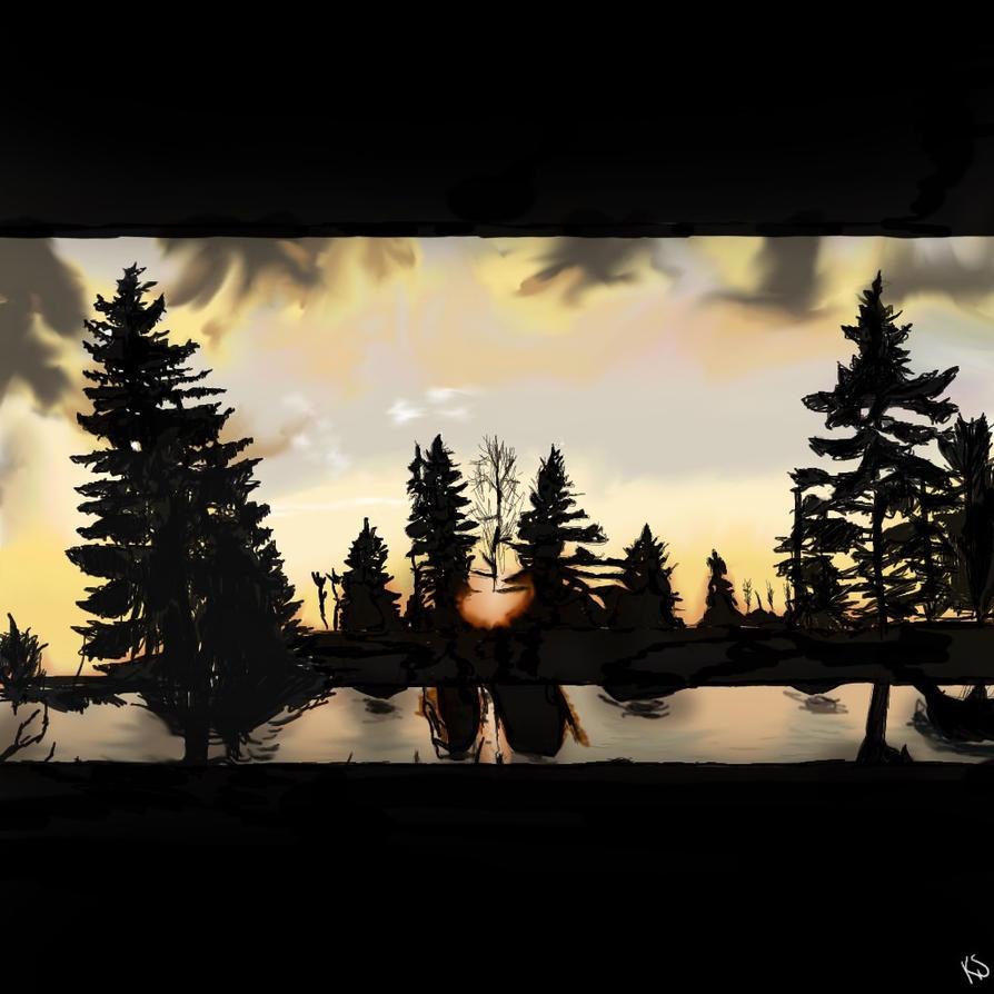 Sunset by TwilightRoxK