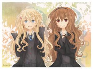 .Luna and Hermione - Bye Bye.