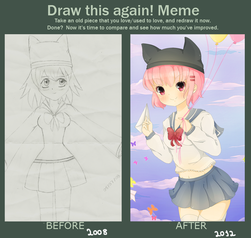 .Before and After. by lNeko-Hime