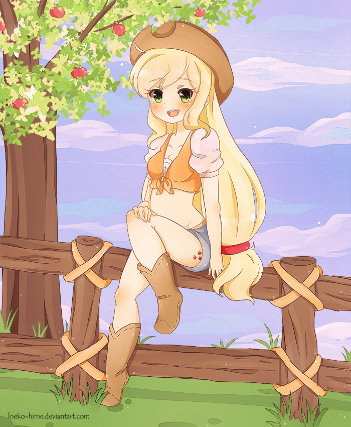 .Gift Applejack. by lNeko-Hime