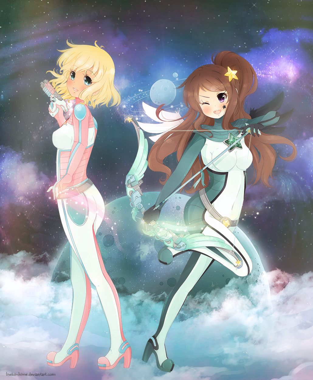 .Galactic Princesses. by lNeko-Hime