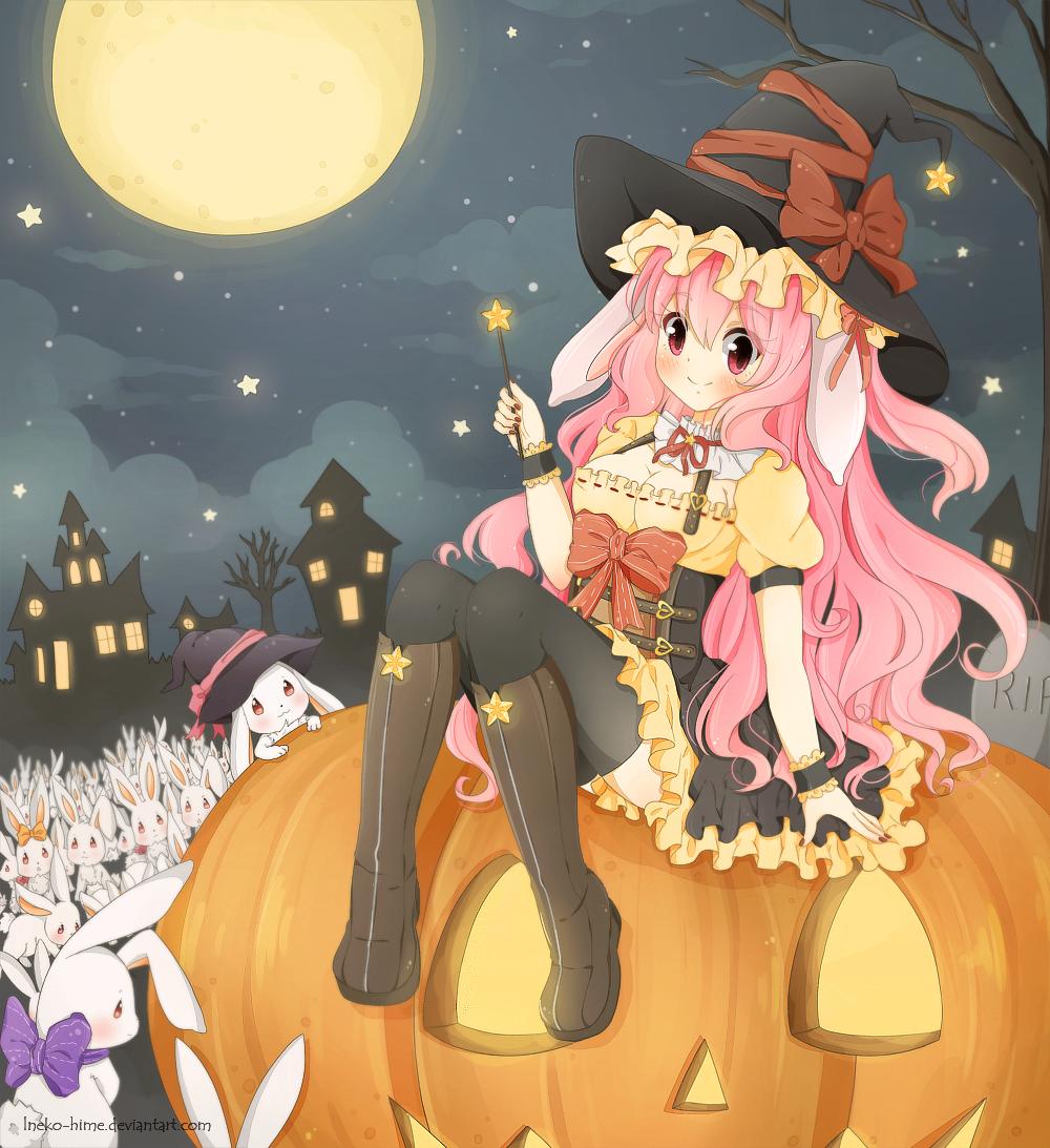 .Bunny Witch. by lNeko-Hime