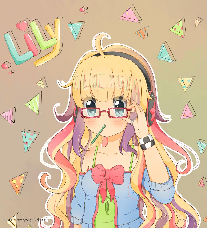 .Lily. by lNeko-Hime