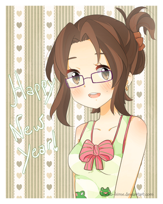 .Happy New Year. by lNeko-Hime
