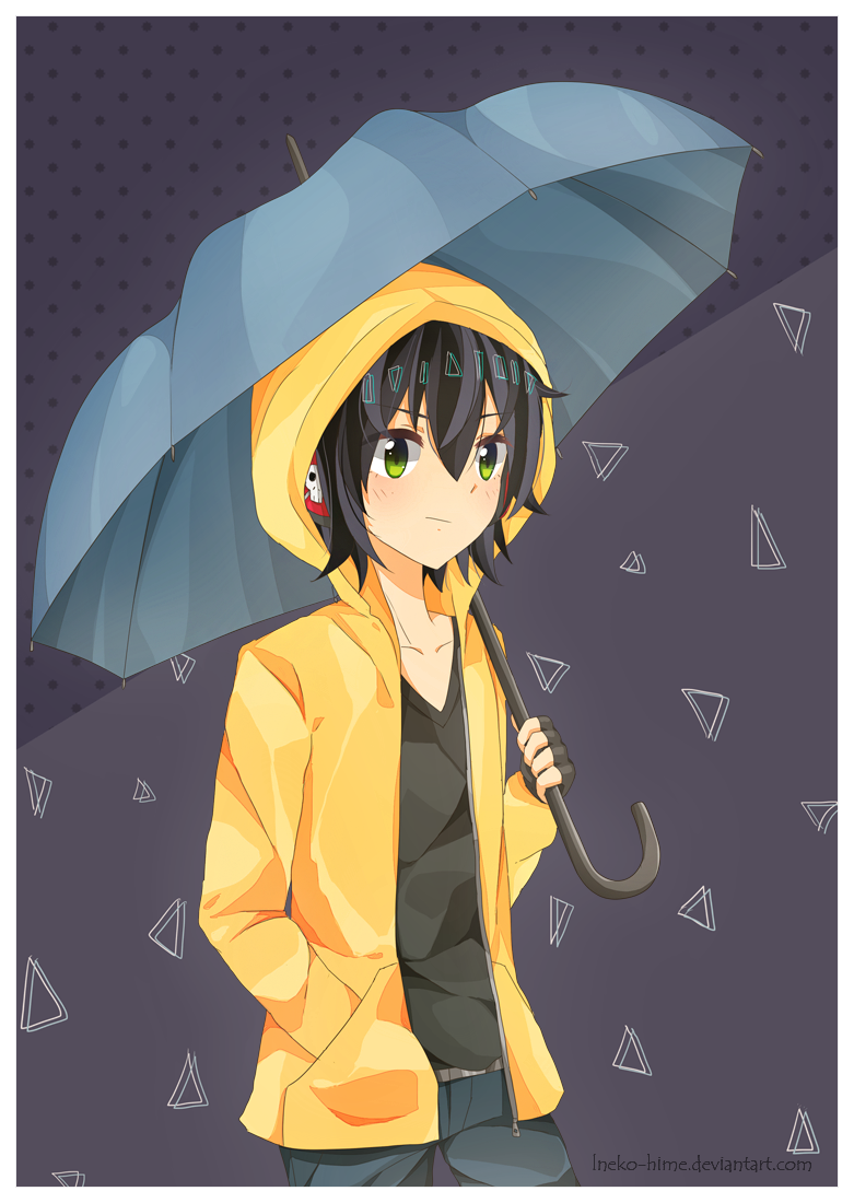 .Rain. by lNeko-Hime