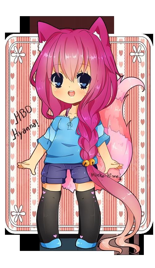 .HBD - Hyanna!. by lNeko-Hime