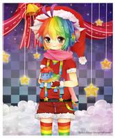 .Merry Fluffy Christmas. by lNeko-Hime