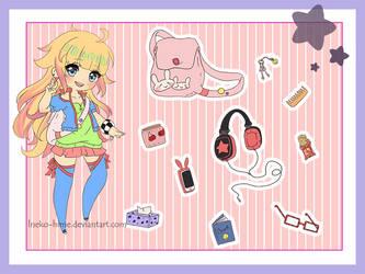 .Lily's purse meme. by lNeko-Hime