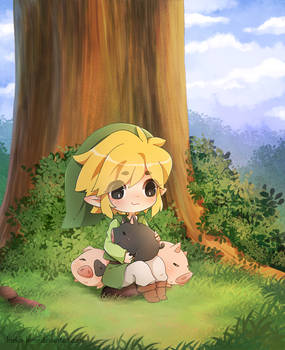 .Link and Pigs.