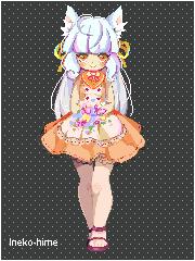 .Pixel - Flowers. by lNeko-Hime