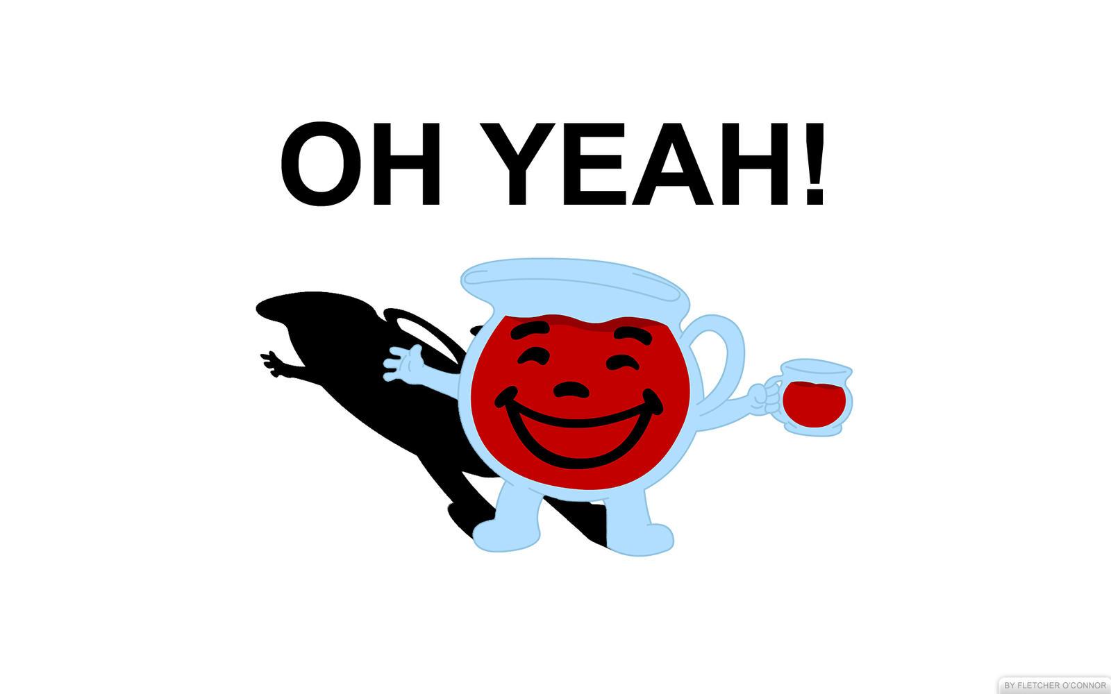 Kool-Aid Man: Oh Yeah! by Mrfletch1000 on DeviantArt