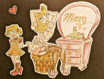 Retro Lookin Mother's Day Card
