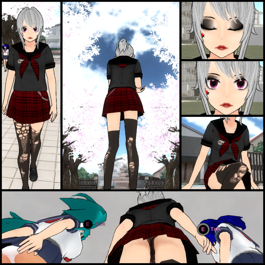 Yandere simulator skin Yandere Rocks by KiinDualist on ...