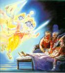 The Vishnudutas save Ajamila