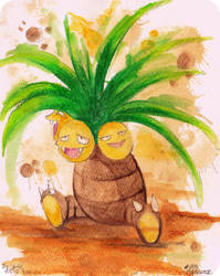 103 Exeggutor by Yui-the-Echidna