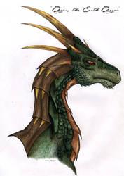 Dagan - The Earth Dragon by Nikkayla